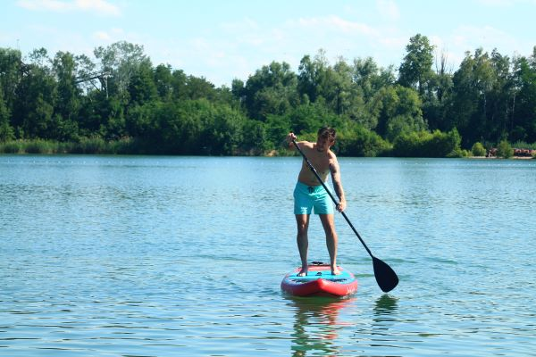 Stand Up paddling Rhein Main
